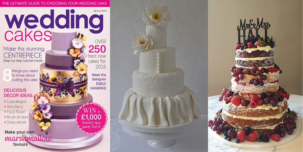 Wedding Cakes Magazine Spring 2016 edition